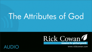 The Attributes of God – Audio